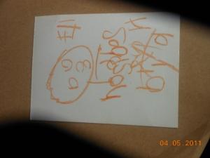 Mazie's card