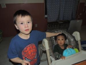 Benjamin and Eli