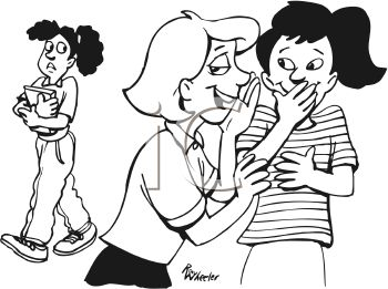 0511-0906-2212-2319_Black_and_White_Cartoon_of_Two_Girls_Gossiping_About_Another_Girl_clipart_image[1]