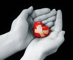 broken heart holding